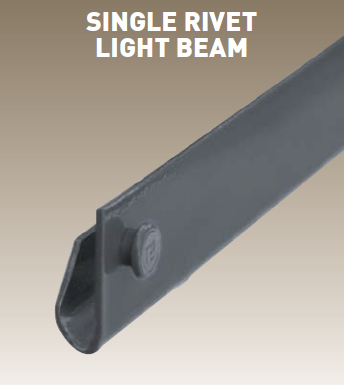 Light Duty Rivet Shelving Beams