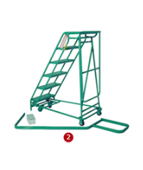 Rolling Ladder - Folding Rolastair™