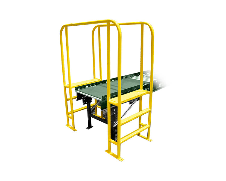 conveyor walk-over - Step over conveyor using this set of steps