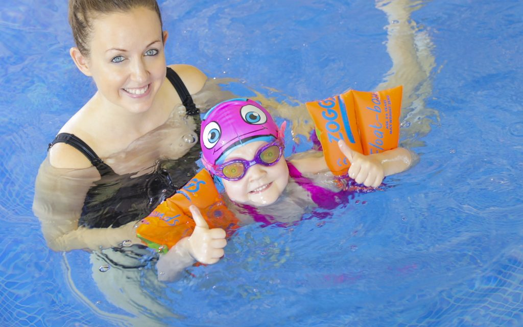 Swimming aids for children up to 5