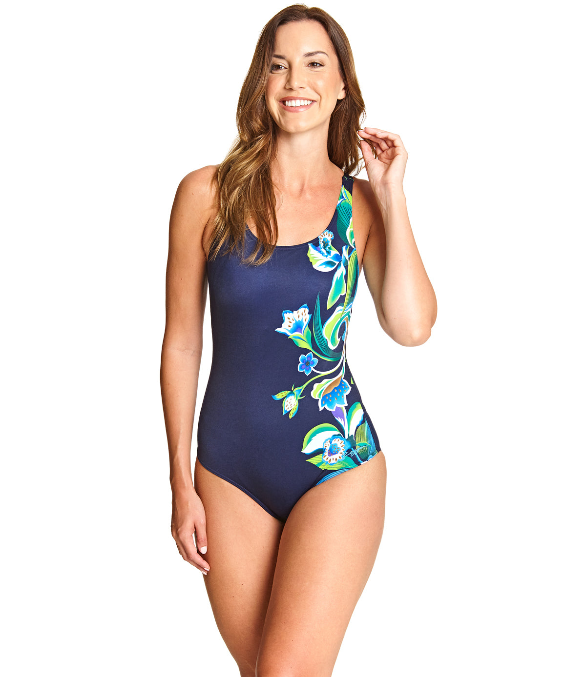 Gladiolus Adjustable Scoopback One Piece
