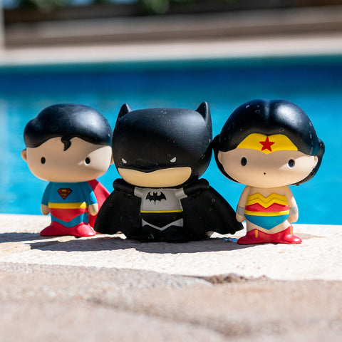 Photo Of Superman, Batman & Wonder Woman Dive Toy