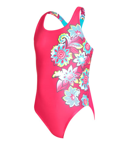 Girls Garden Party Rowleeback One Piece