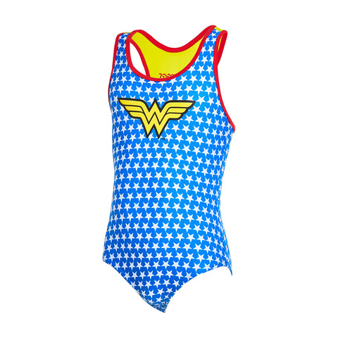 Kids Wonder Woman Actionback One Piece