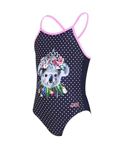 Girls Tribal Koala One Piece