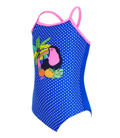 Girls Jungle Crossback One Piece