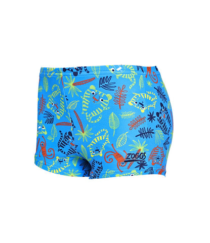 Kids Boy Tiger Party Hip Racer in Blue Multi
