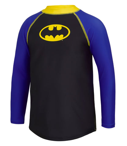 Batman Motif Long Sleeve Sun Top