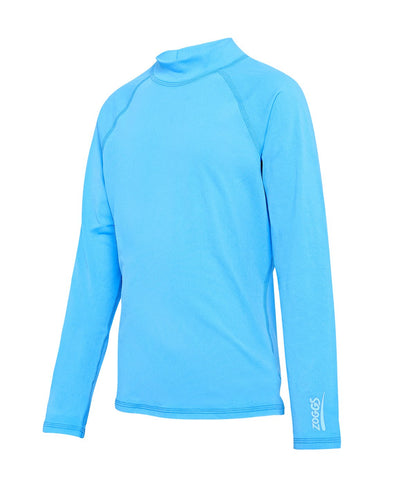 Turquoise Bells Unisex Long Sleeve Sun Top