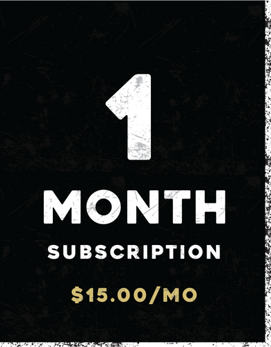 1-Month Subscription (Recurring)