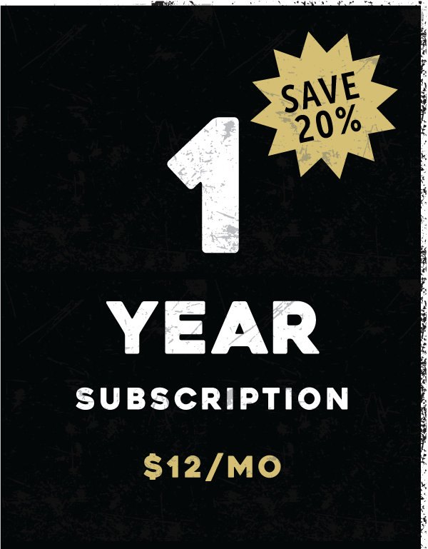 1-Year Subscription (Recurring)