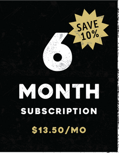6-Month Subscription (Recurring)