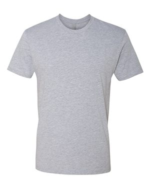 Next Level 3600 Heather Grey (28 pcs) w/ Up to 3-Color Print
