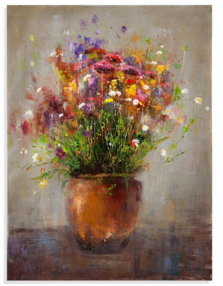 Copper Vase Canvas - Wilson Lee
