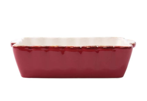 Italian Bakers Small Red Rectangular Baker - Wilson Lee