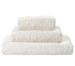 Ivory Super Pile Bath Towels - Wilson Lee