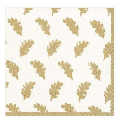 Leaves of Gold Luncheon Napkins
