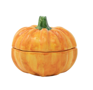 Pumpkins Figural Covered Small Pumpkin - Wilson Lee