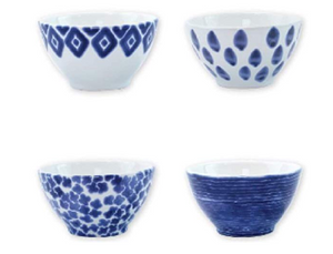 Santorini Assorted Cereal Bowls (Set of 4) - Wilson Lee