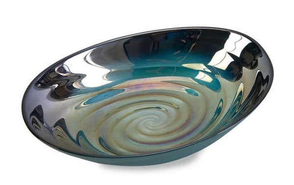 Swirl Glass Bowl - Wilson Lee