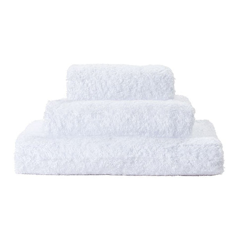 White Super Pile Bath Towels - Wilson Lee