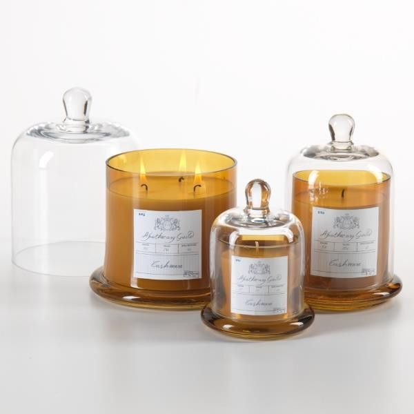 Cashmere Bell Jar Wick Candle - Wilson Lee