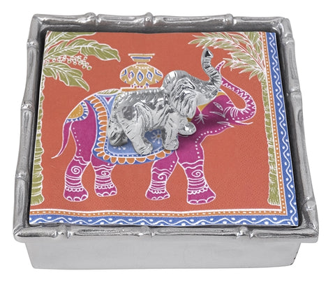 Bambu Elephant Napkin Holder & Weight - Wilson Lee