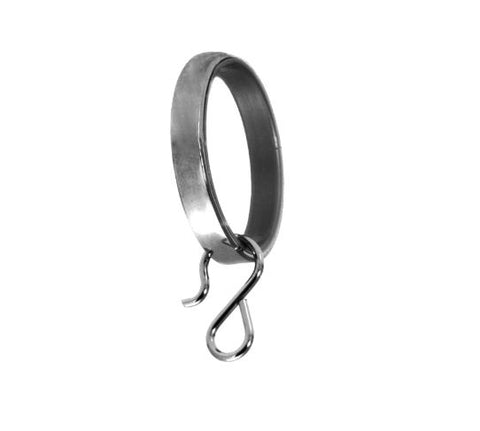 Drapery Rings - Petite Chrome Lined (Set of 10) - Wilson Lee