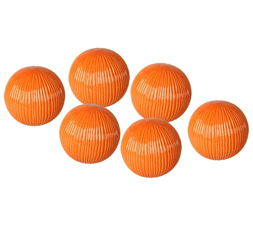 Textured Ceramic Balls (Set of 6) - Wilson Lee