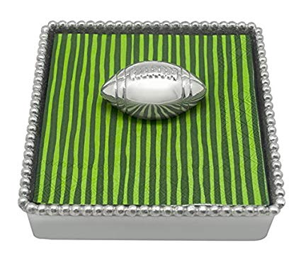 Football Napkin Holder & Weight - Wilson Lee