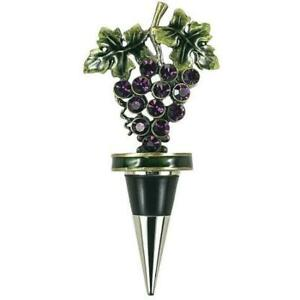 Purple Grape Bottle Stopper - Wilson Lee
