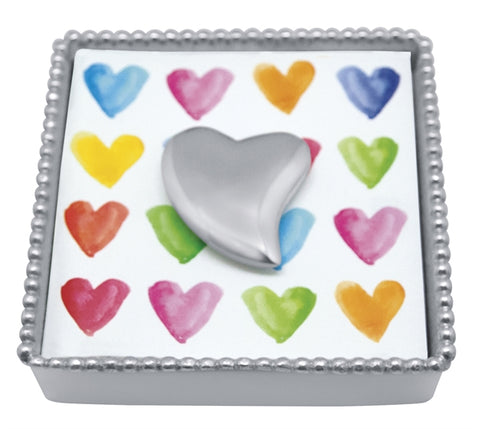 Heart Napkin Holder & Weight - Wilson Lee