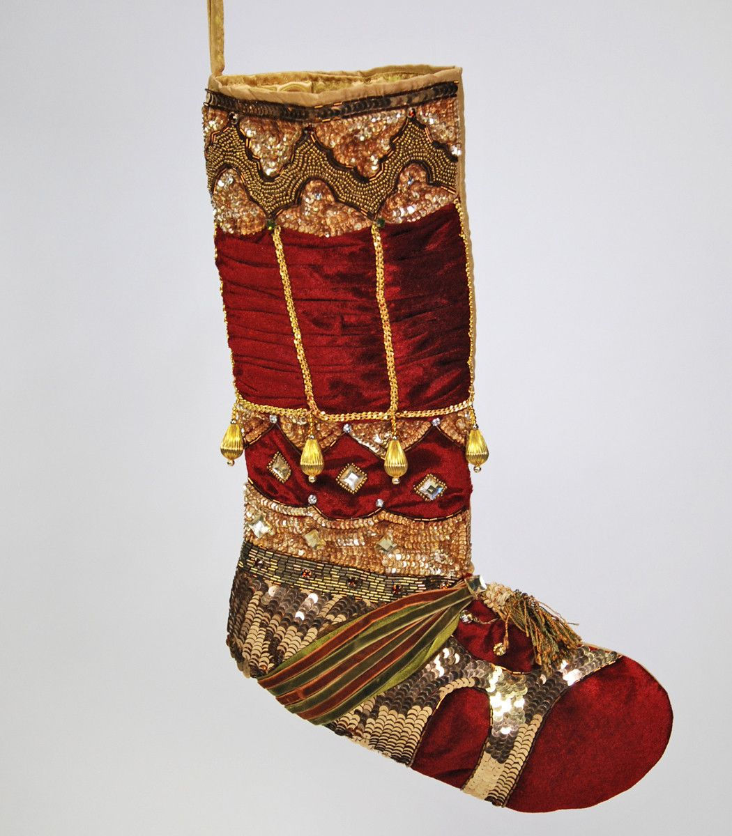 Jeweled Nativity Stocking - Wilson Lee