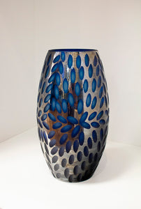 Large Blue Katara Vase - Wilson Lee