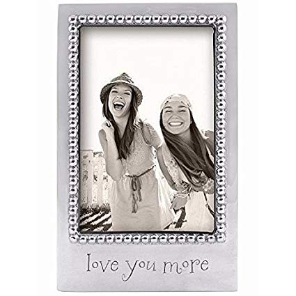 """Love You More"" Vertical 4x6 Frame - Wilson Lee"