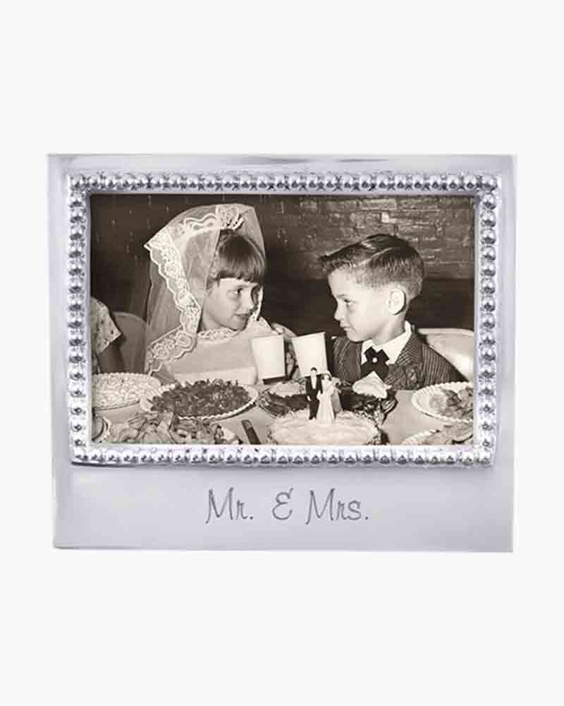 """Mr & Mrs"" 4x6 Frame - Wilson Lee"