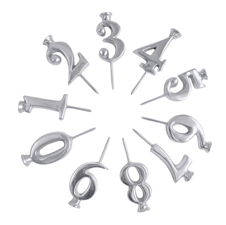 Numbered Candle Holders (Set of 10) - Wilson Lee