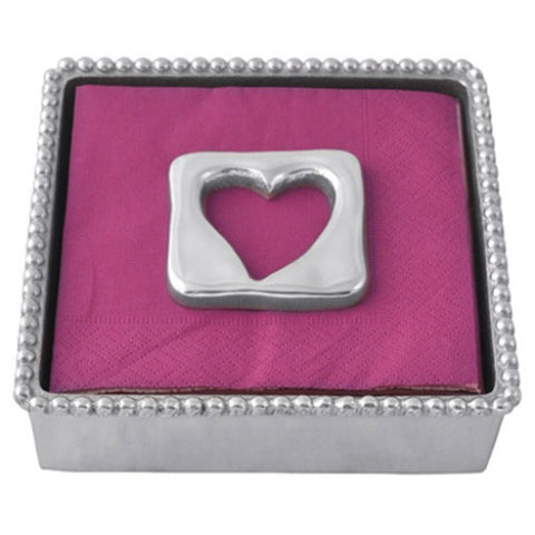 Open Heart Napkin Holder & Weight - Wilson Lee