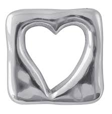 Open Heart Napkin Weight - Wilson Lee