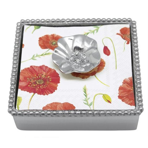 Poppy Napkin Holder & Weight - Wilson Lee