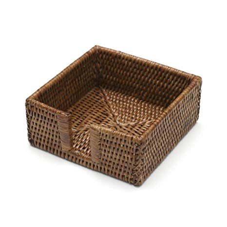 Rattan Cocktail Napkin Holder - Wilson Lee