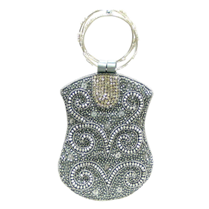 Silver Beads Mobile Bag - Wilson Lee