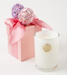 8 oz. Pink Easter Candle - Wilson Lee
