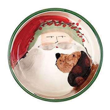 Old Saint Nick Dog Bowl - Wilson Lee