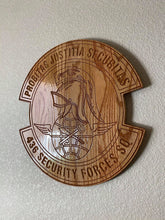 "Load image into Gallery viewer, Military Plaque Medium 14""x14""x3/4"""
