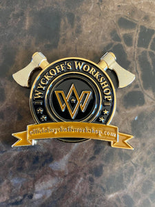 Limited Edition Wyckoff's Workshop Challenge Coins
