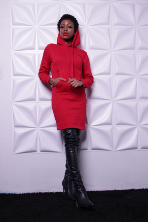 Open image in slideshow, Red Riding - Onyx Street Boutique
