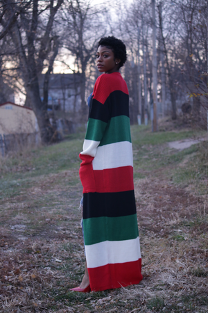 Open image in slideshow, Kwanzaa Cardi - Onyx Street Boutique