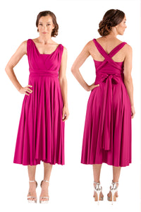 Lucy and Loo Convertible Mid Length Dress - Display Stock