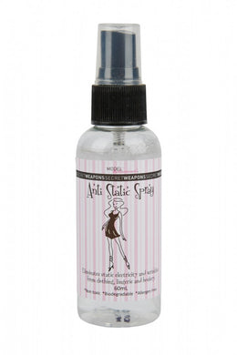 Anti Static Spray stops fabric clinging. Stop static electricity in your dress